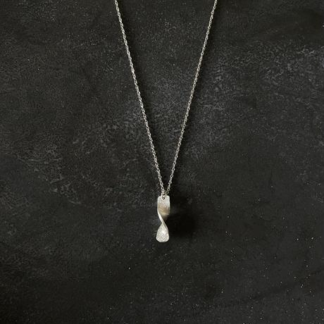 Twist silver999  MINIネックレス