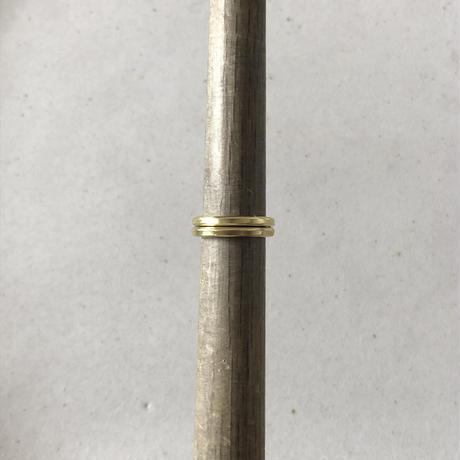 真鍮 pinkie ring