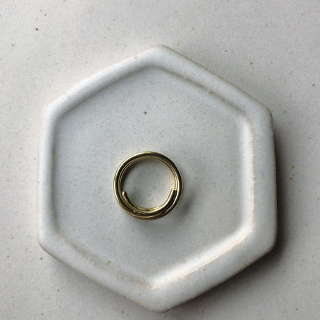 IRONO brass kurukuru Ring #11