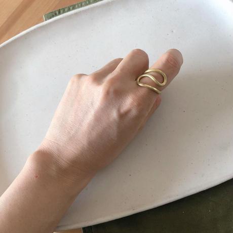 Brass Kuneri ring①
