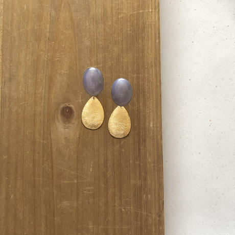 Vintage  lavender  ピアス / イヤリング