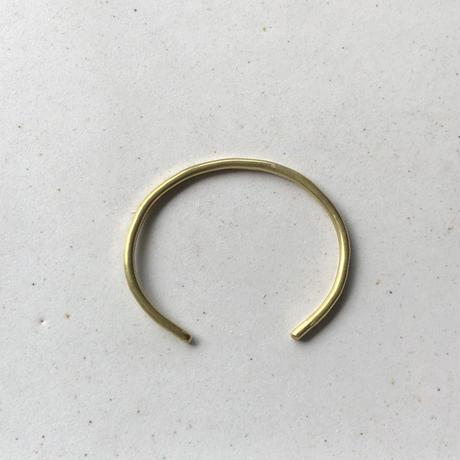 Brass bangle <slim>