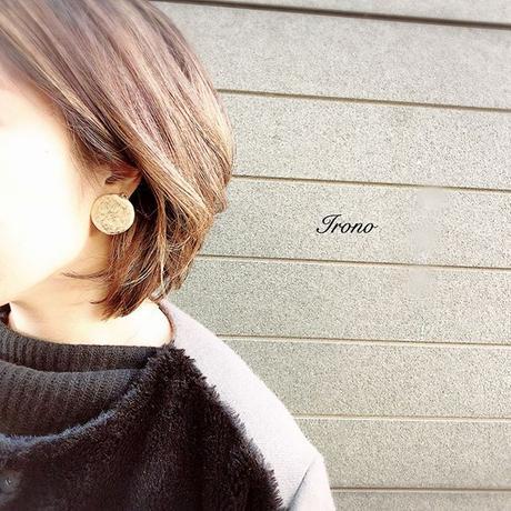 FULL Moon  brass / ピアス / イヤリング