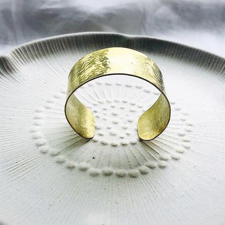 brass bangle wide
