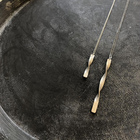 Twist silver999 twist  ショートネックレス