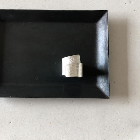 silver999 wide  ring