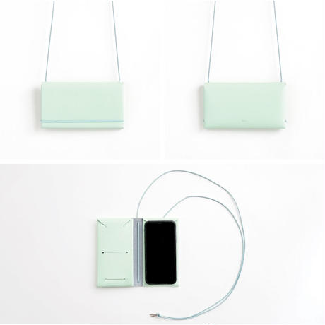 SEAMLESS SMARTPHONE CASE with STRAP (8colors)