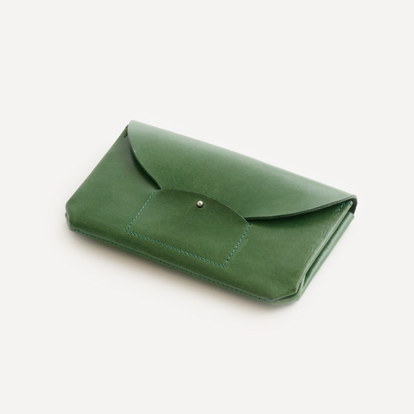 RIC-RAC LONG WALLET(BLACK / D.BROWN / NUDE / GREEN)