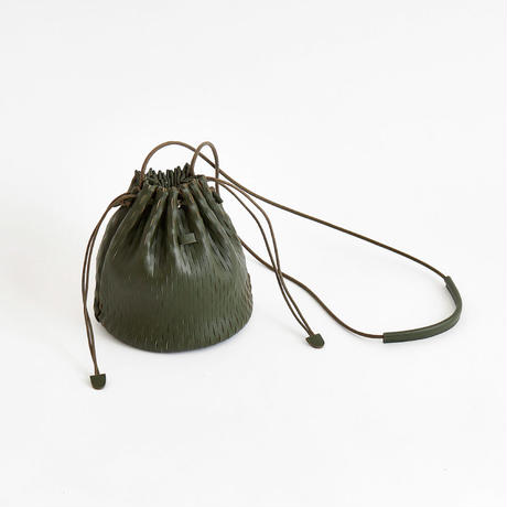 """net"" bucket bag mini ""limited color KHAKI"""
