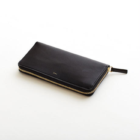 pop-up long wallet  (black / nude / yellow / mint )