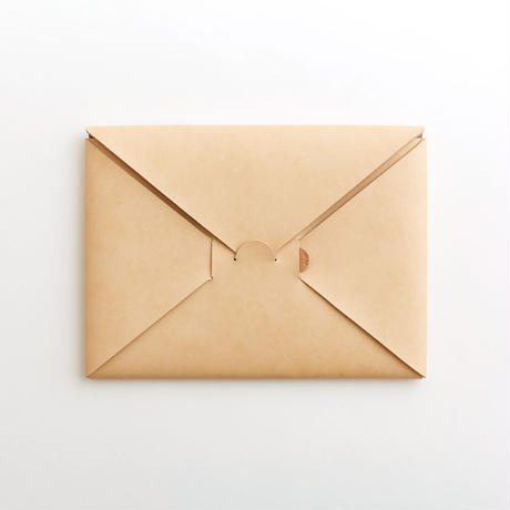 seamless clutch bag-M(black / nude)