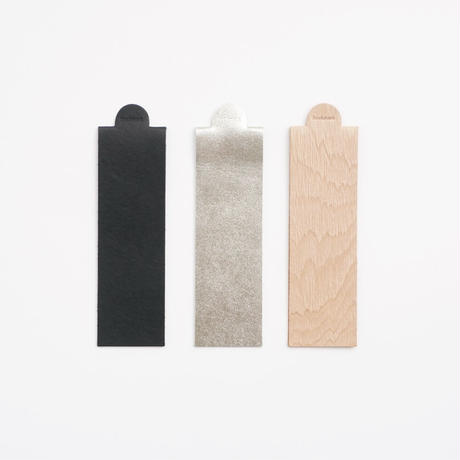 LEATHER BOOKMARK (9 colors)