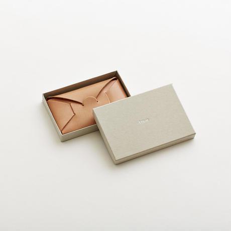 seamless card case / blue
