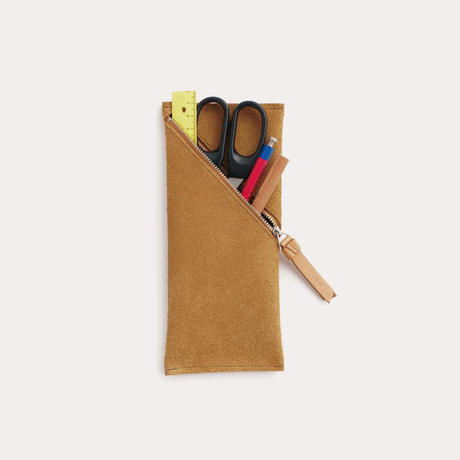 spiral pen case(black / gray / camel)
