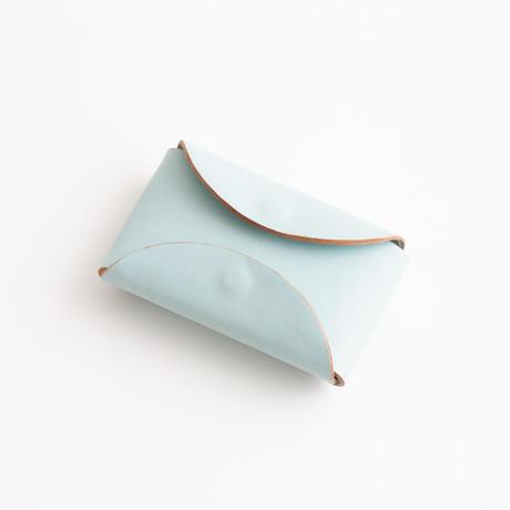 FOLD KEY WALLET  ( BLACK / D.BROWN / PALE BLUE )