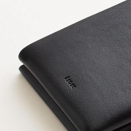 seamless short wallet / black