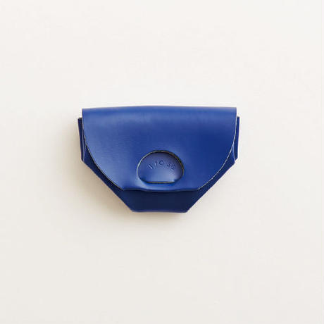 seamless coin case / blue