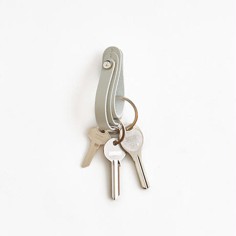 FOLD 3R KEY HOLDER   (BLACK / D.BROWN / GRAY / WHITE)