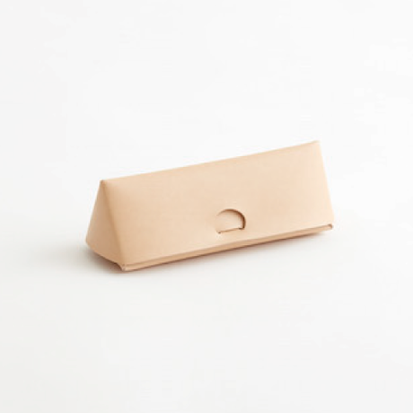 SEAMLESS GLASSES & PEN CASE(NUDE / BLACK )