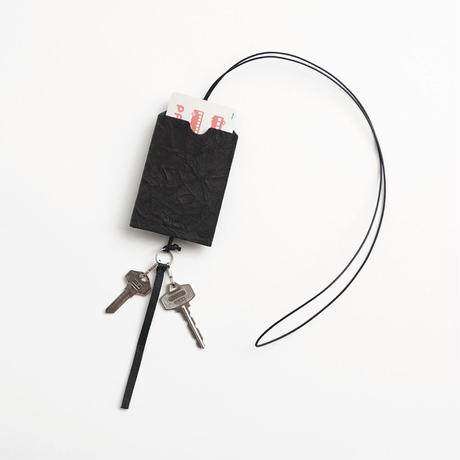 PAPER LEATHER KEY / CARD HOLDER
