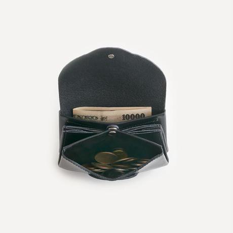 ric-rac mini wallet / black