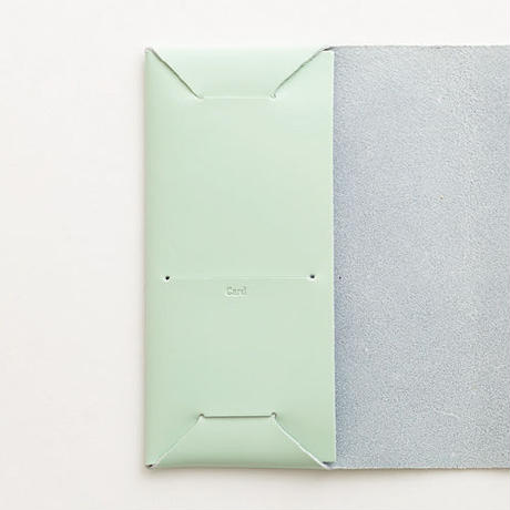 seamless book cover / mint