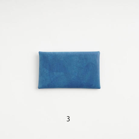 "SEAMLESS CARD CASE   "" INDIGO """