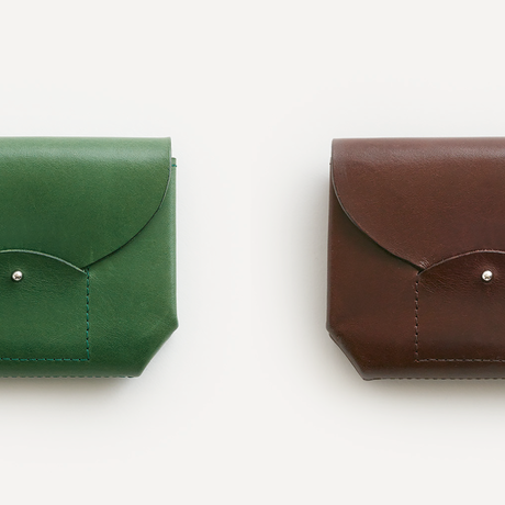 RIC-RAC MINI WALLET(BLACK / D.BROWN / NUDE / GREEN)