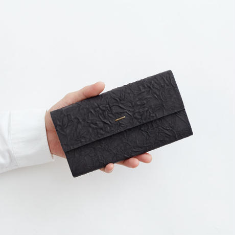 paper long wallet (black / gray)