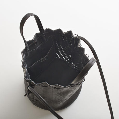 """net"" bucket bag"