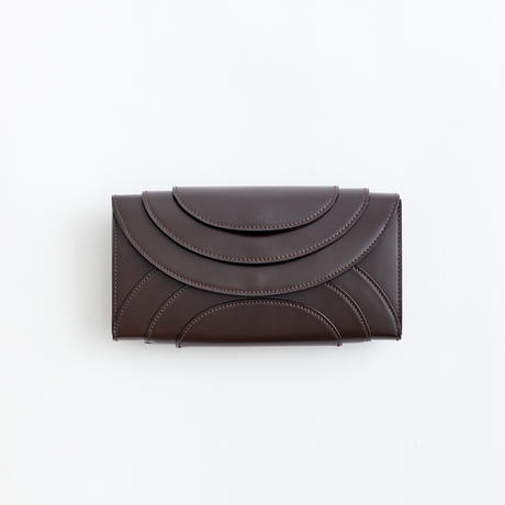 FOLD 3F WALLET  ( D.BROWN/BLACK)