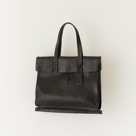 """sack"" flat bag M   ( black )"