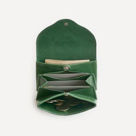 ric-rac mini wallet / green