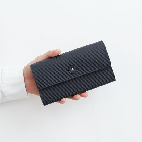 cardboard long wallet(l.brown / gray / black)