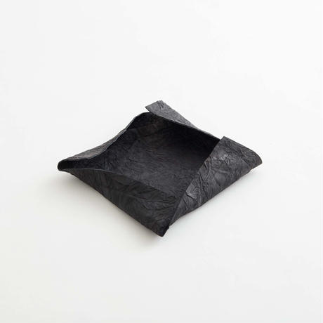 paper leather tray(black / gray / l.brown)