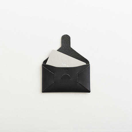 seamless card case / black