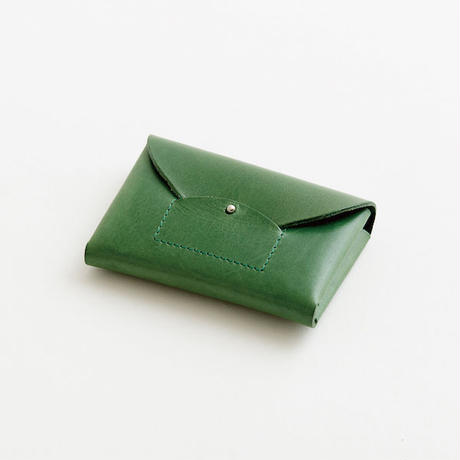 ric-rac card case / green
