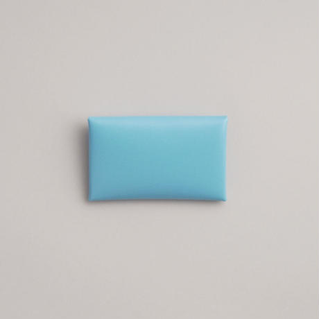 "SEAMLESS CARD CASE ""SKY BLUE"""