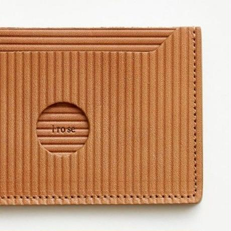 cardboard pass case(l.brown / gray / black)