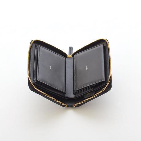 POP-UP MEDIUM WALLET -2 (BLACK / NUDE / YELLOW / MINT / GRAY)