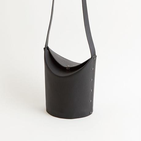 CARDBOARD TUBE SHOULDER BAG   ( 3 colors )