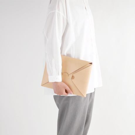 SEAMLESS CLUTCH BAG-S ( BLACK / NUDE )