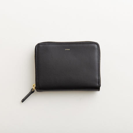 pop-up medium wallet (black / nude / yellow / mint)