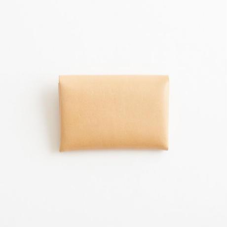 ric-rac card case / nude