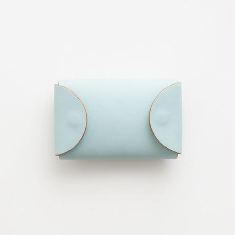 FOLD KEY WALLET  (BLACK / D.BROWN / PALE BLUE)
