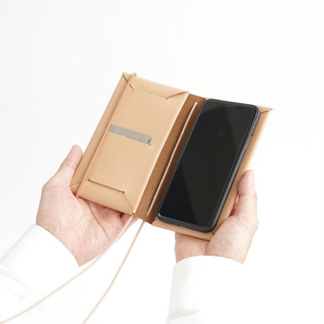 SEAMLESS SMARTPHONE CASE with STRAP ( 8colors )