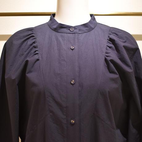 No.2103061 コットンタイプライターシャツワンピース Made in Japan