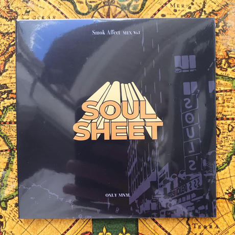 """SOULSHEET Presents """"Smok Affect Mix Vol.1"""" CD & Cassette Tape  /  Mixed By : 9INCY & SOUSHI"""