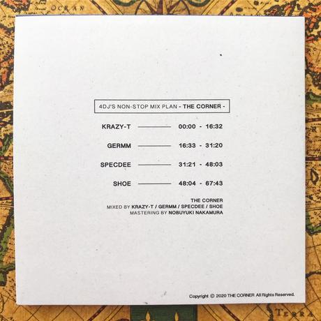 THE CORNER - 4DJ'S NON-STOP MIX PLAN (MIXED BY KRAZY-T / DJ GERMM / SPECDEE / DJ SHOE ) - CD