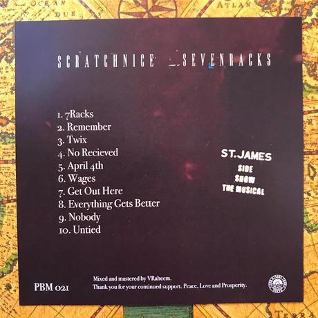 DJ SCRATCH NICE - SEVENRACKS CD